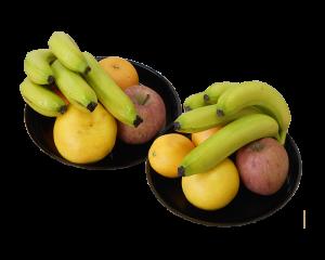 果物(5品) 一対イメージ