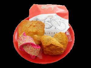 結納菓子3点パック詰めイメージ